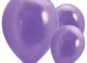 violet balloons