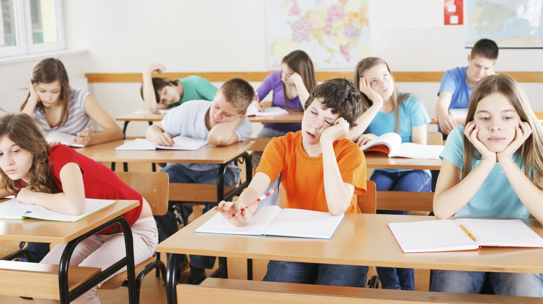 ¿Qué hacer cuando los estudiantes indican que se aburren en la escuela?